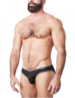 Nasty Pig Profile Lowrise Brief Schwarz