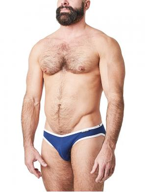 Nasty Pig Profile Lowrise Brief Blau