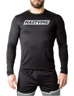 Nasty Pig Reflector Long Sleeve Shirt schwarz