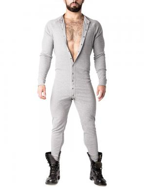 Nasty Pig Union Suit Heather Grey