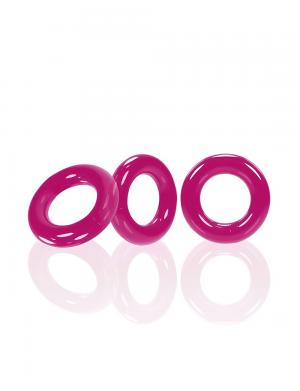 Oxballs WILLY C-Ring 3-Pack Pink