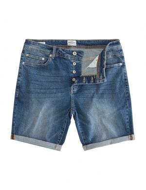SOLID Denim Shorts - Lt Ryder Str. Denim