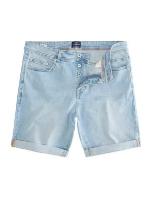 SOLID Denim Shorts - Lt Ryder Str. hellblau