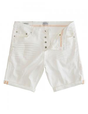 SOLID Denim Shorts - Lt Ryder Stretch weiß