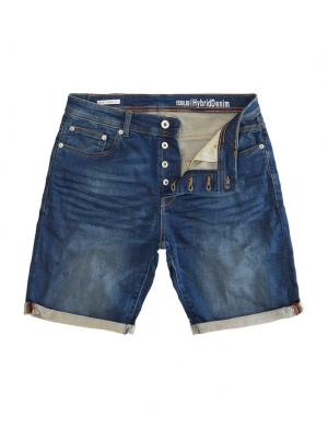 SOLID Hybrid Denim Shorts - Lt Ryder Str. Denim