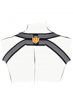 URUZ Uruz Harness schwarz / orange